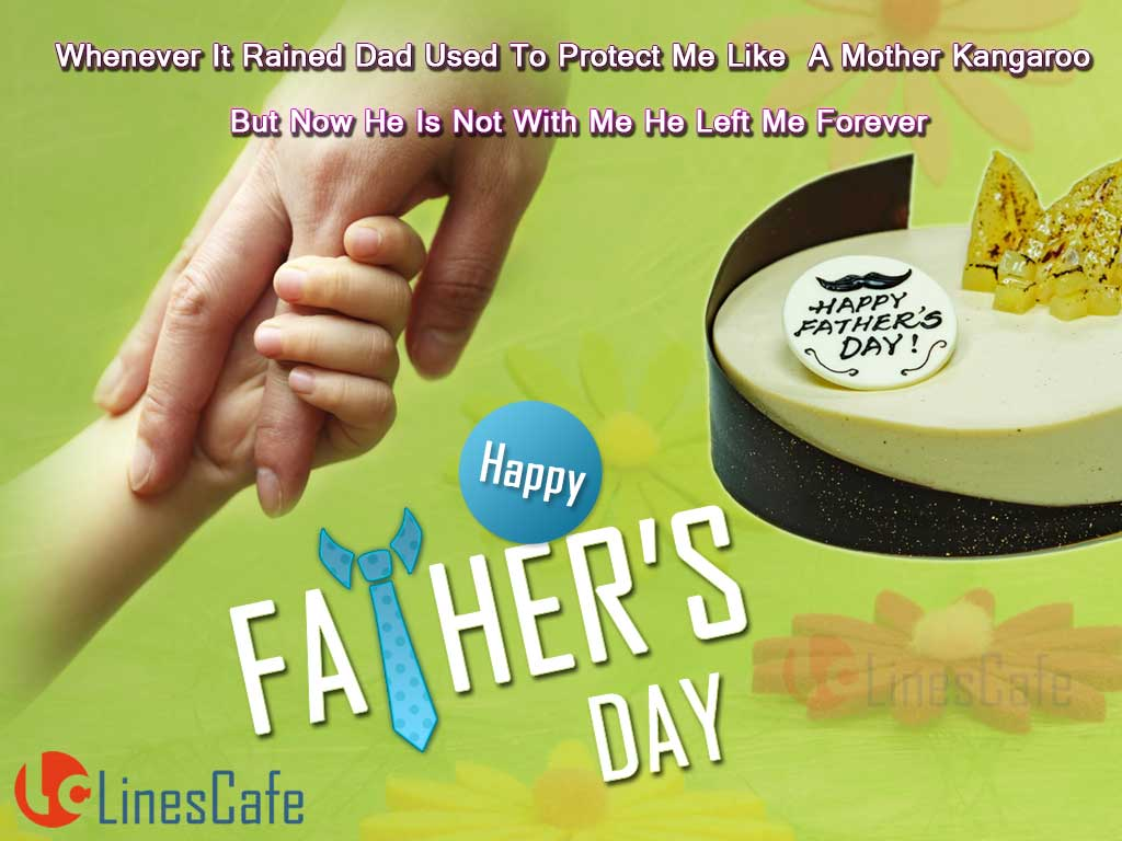 Special Super Greetings For Happy Father's Day Wishes To Dad With Father's Day Cake Images
