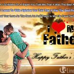 Father kissing Daughter Greeting Images