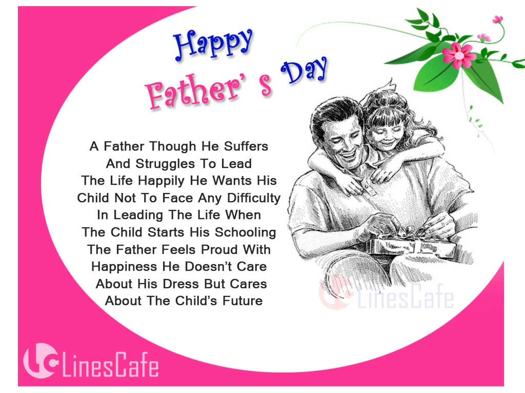 Father's Day Images With Father's Day Quotes And Messages From Daughter in Daughter Hugging Father Pictures