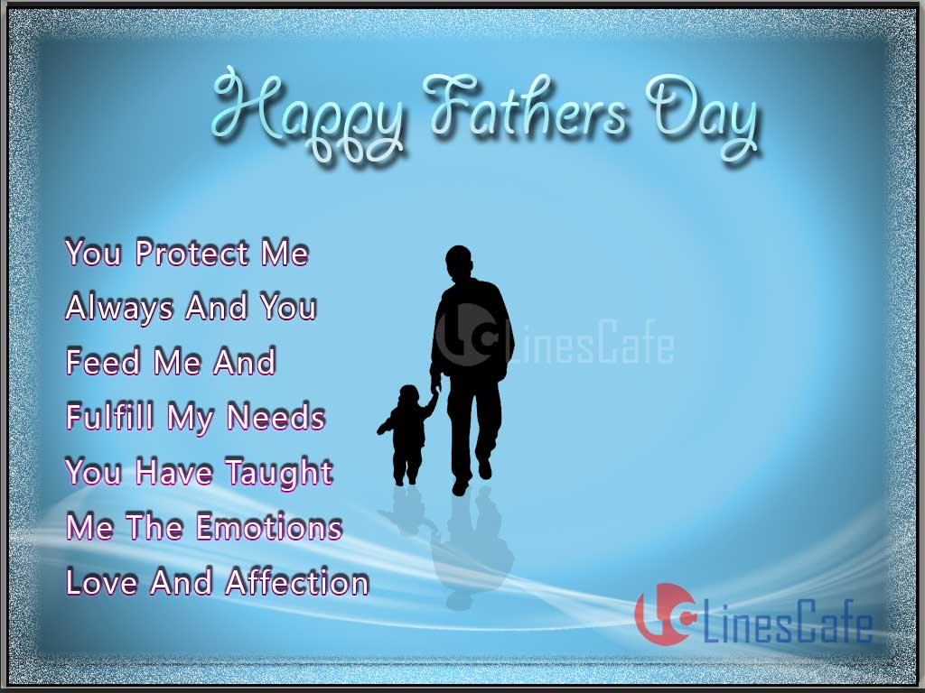 Messages And Quotes About Father In Images With Beautiful  Words For Best Quotes For Father's Day 2016