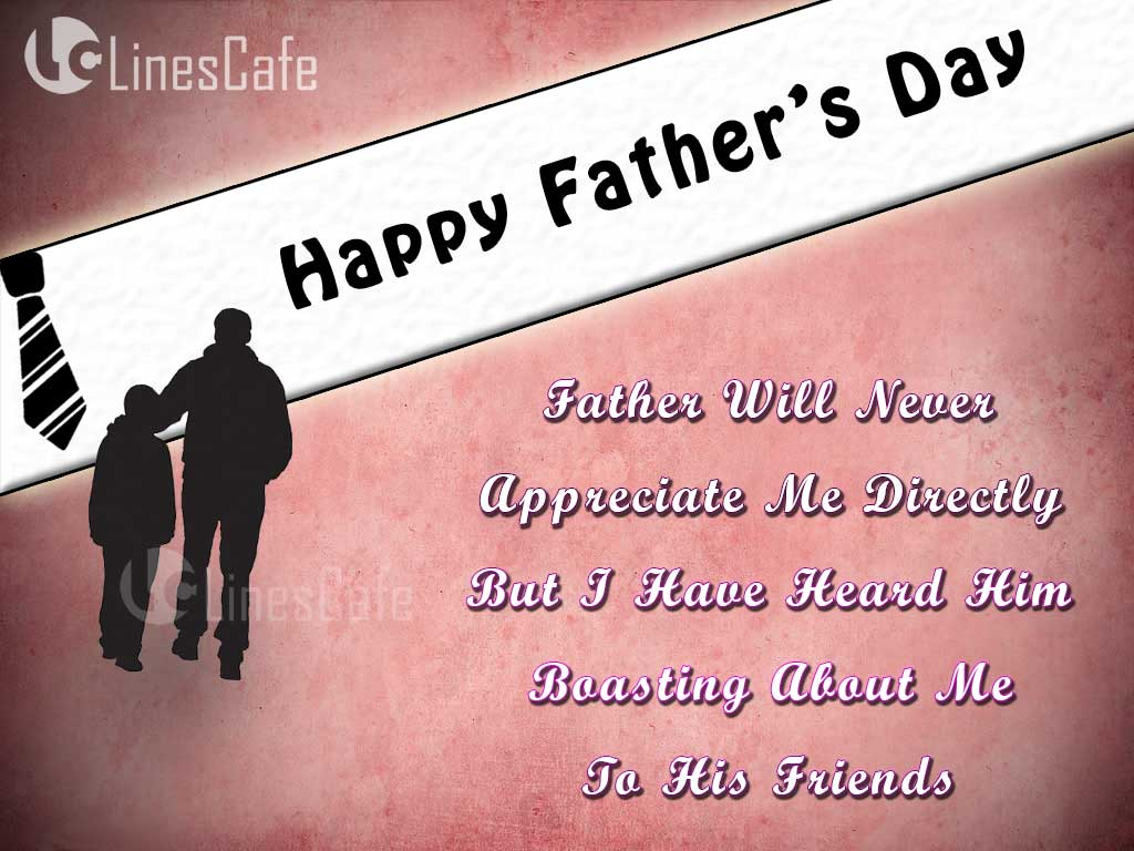 Happy Father's Wishing Greeting Images With Poems And Messages About Dad To Wish